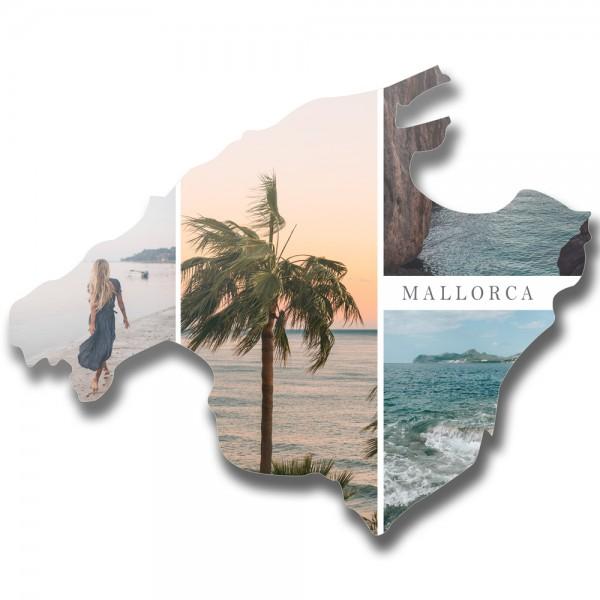 "Länderumriss personalisierbar: ""Mallorca""personalisiert"