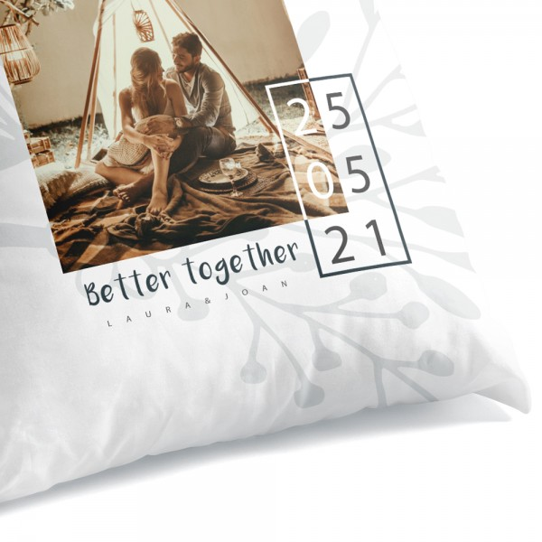 "Sitzsack personalisierbar: ""Boho - better together""personalisiert"